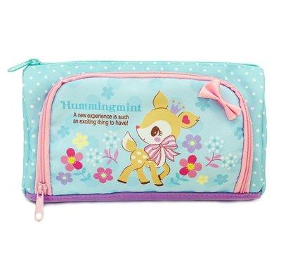 Hummingmint 哈妮鹿 Sanrio 港版 雙拉鏈 筆袋 (包平郵或本地郵局自取)
