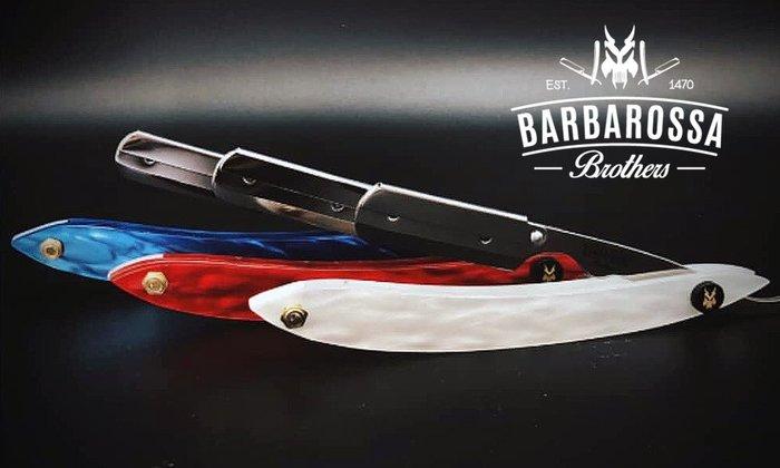 GOODFORIT/ 英國 Barbarossa Brothers Admiral 鄂圖曼海軍上將仿珍珠系列剃刀/三色
