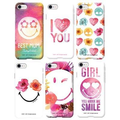 Smiley 微笑彩繪 硬殼 手機殼│iPhone X XS MAX XR│z8348
