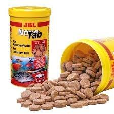 魚樂世界水族專賣店# 德國 JBL Novo Tab 100ml 160錠 沉底飼料營養片