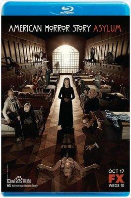 美國恐怖故事:疯人院  美國怪談  美国怪谭  第2季  共2碟  American Horror Story