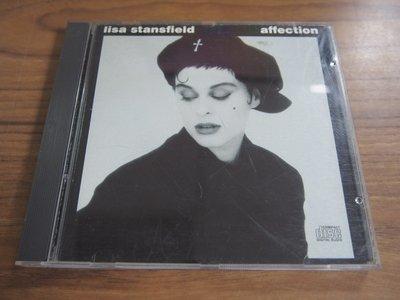 ◎MWM◎【二手CD】Lisa Stansfield- Affection 無ifpi, 片況佳一處較深刮痕,不影響播放