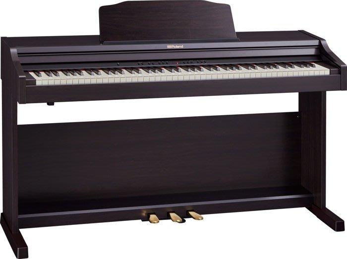 造韻樂器音響- JU-MUSIC - 最新 Roland RP302 數位 電鋼琴 玫瑰木 RP302-CRL