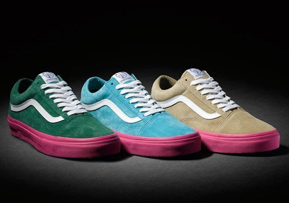 { POISON } VANS SYNDICATE x GOLF WANG OLD SKOOL PRO 聯手提案聯名鞋