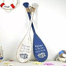 【優上精品】 地中海風格實木船槳復古咖啡店酒吧裝飾掛件掛飾壁飾吊飾(Z-P3247)