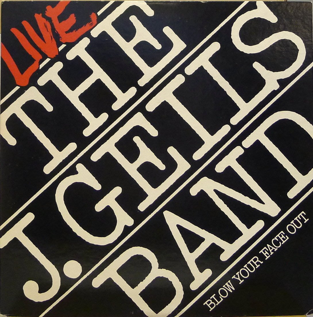§小宋唱片§ 日版/The J.Geils Band Live - Blow Your Face Out/二手西洋黑膠
