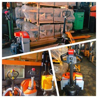 油壓拖板車/電動拖板車/半電動堆高機