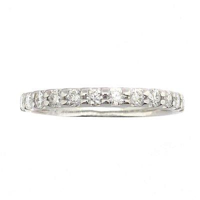 【JHT金宏總珠寶/GIA鑽石專賣】0.30ct天然鑽石線戒/材質:18K(JB45-A06)