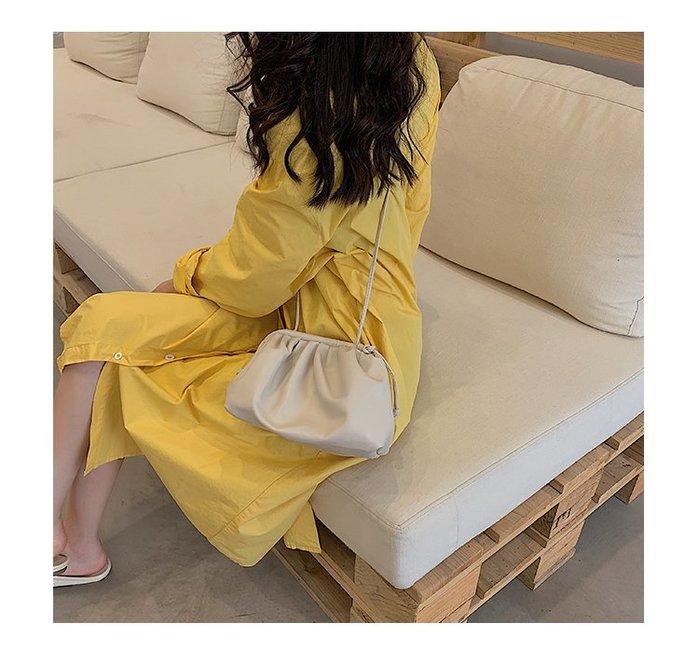 FINDSENSE X 韓國 女士 時尚 個性 素面 斜挎包 百搭 單肩包 手提包