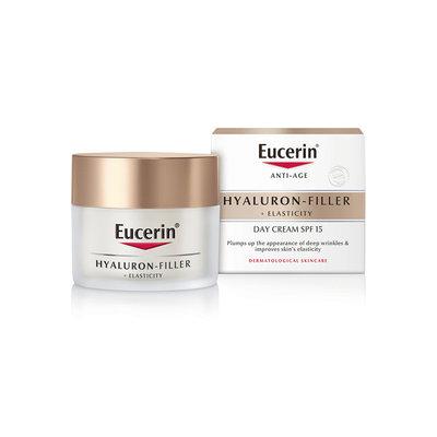 Eucerin Hyaluron FillerElasticity  Cream,熟齡精顏日霜50ml