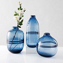 〖洋碼頭〗ins北歐風花瓶擺件 客廳幹花插花花器簡約現代透明玻璃花瓶擺件 ybj344