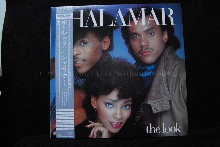 [Vintage西洋] 中古黑膠,Shalamar, The look, 1LP。