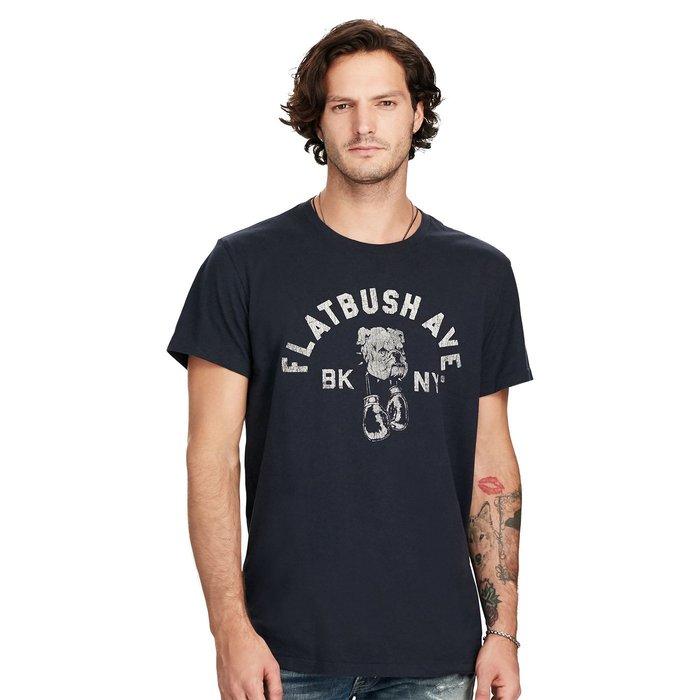 美國百分百【Ralph Lauren】T恤 Denim & Supply 短袖 T-shirt RL 男 深藍 H894