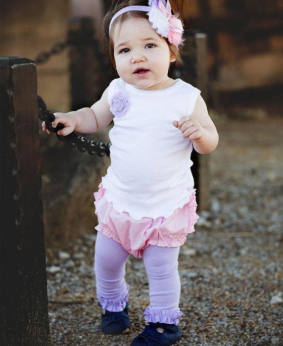 ❤Shopaholic❤美國RuffleButts 冬季暖暖女童褲襪 薰衣草紫 現貨