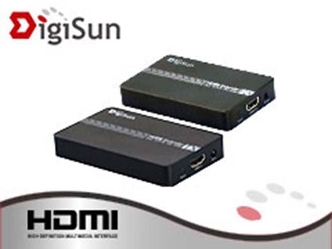 【開心驛站】DigiSun EH620 HDMI over IP 網路線訊號延長器+紅外線遙控傳輸 (直線120公尺)