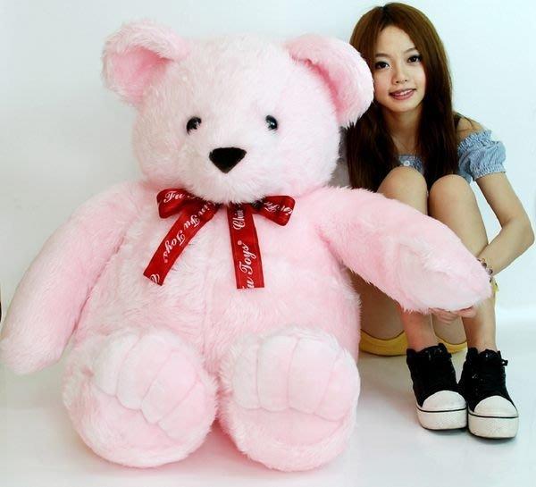 拉拉小站~超大泰迪熊娃娃腳掌款~高120公分~泰迪熊玩偶~生日禮物~聖誕禮物