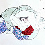 類老國畫類老浮世繪日本春宮畫老畫老水墨畫老人物畫全手繪紙本長卷【心生活美學】