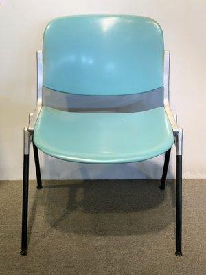 謝木木工作室 Castelli Chair 1877 AO611 辦公椅 會議椅 圖書館椅 義大利 鑄鋁結構骨架 2手品 台南市