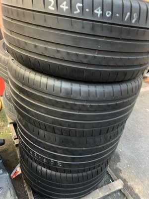 中古胎 米其林 Michelin PS4 245/40/18 265/35/18 PSS F1A5 CSC5