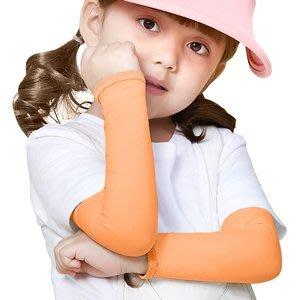 兒童冰絲防曬袖套女童露指涼感袖套男童彈力防護手套寶寶降溫手套防蚊蟲手臂套透氣薄款腿套防紫外線襪套E322-66⊙偷拍網⊙