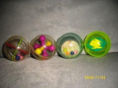 貓咪 玩具 響鈴 球 彩色 四顆一組 造型皆不同  不分賣 下標即為一組四顆  請留言勿直接下標