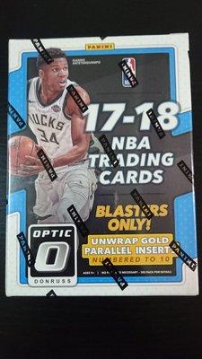 免運費 17-18 Optic Blaster 全新原封裝卡盒 Tatum Ball Mitchell Fultz Kuzma 亮面新人RC卡