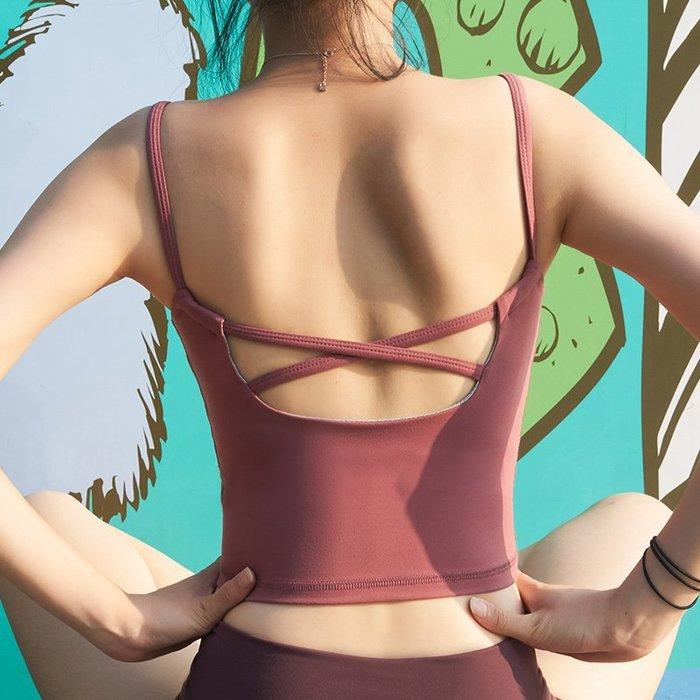 瑜珈衣 #2067 速乾透氣面料 可拆卸胸墊