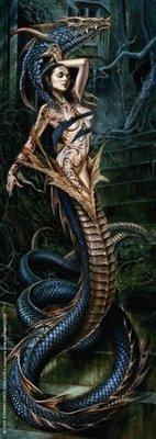 歐洲進口拼圖 HEYE 煉金術 蛇女 Ophidalia Dance Macabre 75片拼圖 29323