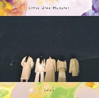 特價預購 Little Glee Monster juice (日版期間生產限定盤CD)  2018最新 航空版