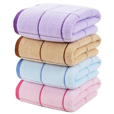 南極人大浴巾純棉成人男女全棉大號毛巾家用嬰兒可愛韓版柔軟加厚