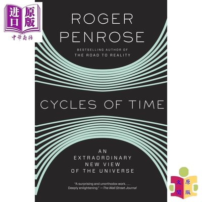 [文閲原版]宇宙的輪回 英文原版 Cycles of Time: An Extraordinary New View o