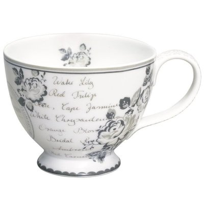 GreenGate Teacup Dora White