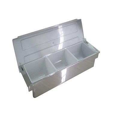 【無敵餐具】電鍍水果盒/保存盒(3格49.8x15.8x9.5cm(BF-03-3S)開店量多可來電洽詢【BBG-16】