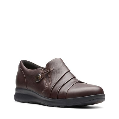 【英國代購】⑤ Clarks Un Adorn Loop Dark Brown Leather 售價4580元