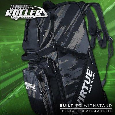 [三角戰略漆彈] VIRTUE V3 GEAR BAG 滾輪防水行李箱 - 黑色 (生存裝備,裝備箱,裝備袋)