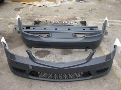 D19012111 BENZ 賓士 W221 07-10年 改S65 AMG 全車大包 前保+後保+側裙 PP材質