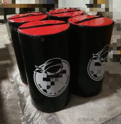 橄欖球橄欖球訓練器材撲摟矮柱擒抱半圓柱Weighted-half Tackle bag運動