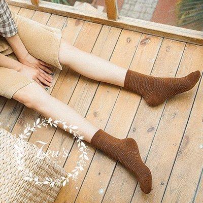 【ZEU'S】韓國春夏條紋中筒襪『 02119430 』【現+預】B