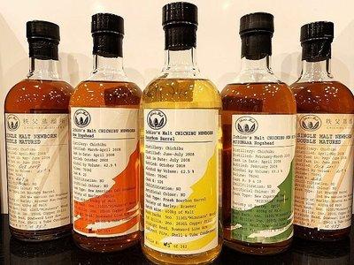 Chichibu 2008 Single Malt Whisky 700ml x 5 秩父威士忌 一套5支
