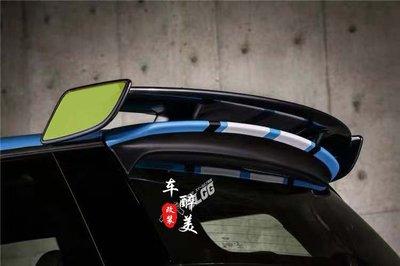 汽車改裝尾翼寶馬迷你mini Cooper F56 F55 S改裝汽車尾翼R56定風翼飛機尾翼