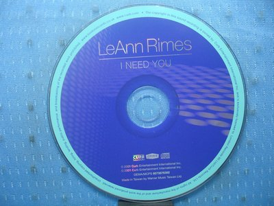 [無殼光碟]GJ LeAnn Rimes I Need You [UK Bonus Tracks]
