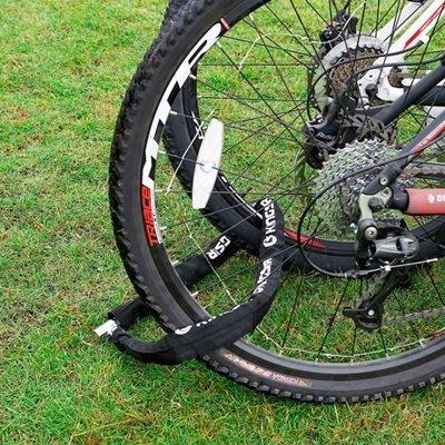 自行車防盜鎖單車鎖(2入)-加粗鏈條便攜堅固腳踏車大鎖73pp287[獨家進口][巴黎精品]