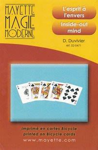 【天天魔法】【468】神奇同花順(The Inside Out Mind )(原廠道具牌+中文教學影片)