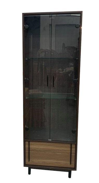 宏品二手家具台中 ZY25BH*新卡爾展示櫃 櫥櫃 高低櫃*酒櫃 玻璃展示架 全新中古傢俱家電 滿千送百豐富喜悅台北新竹