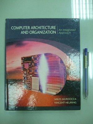 6980銤:A9-4cd☆2007年出版『Computer Architecture and Organization』