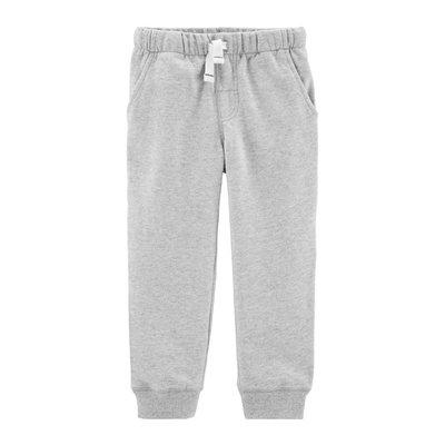 【Carter's】CS男童棉長褲 淺灰 F03191003-11