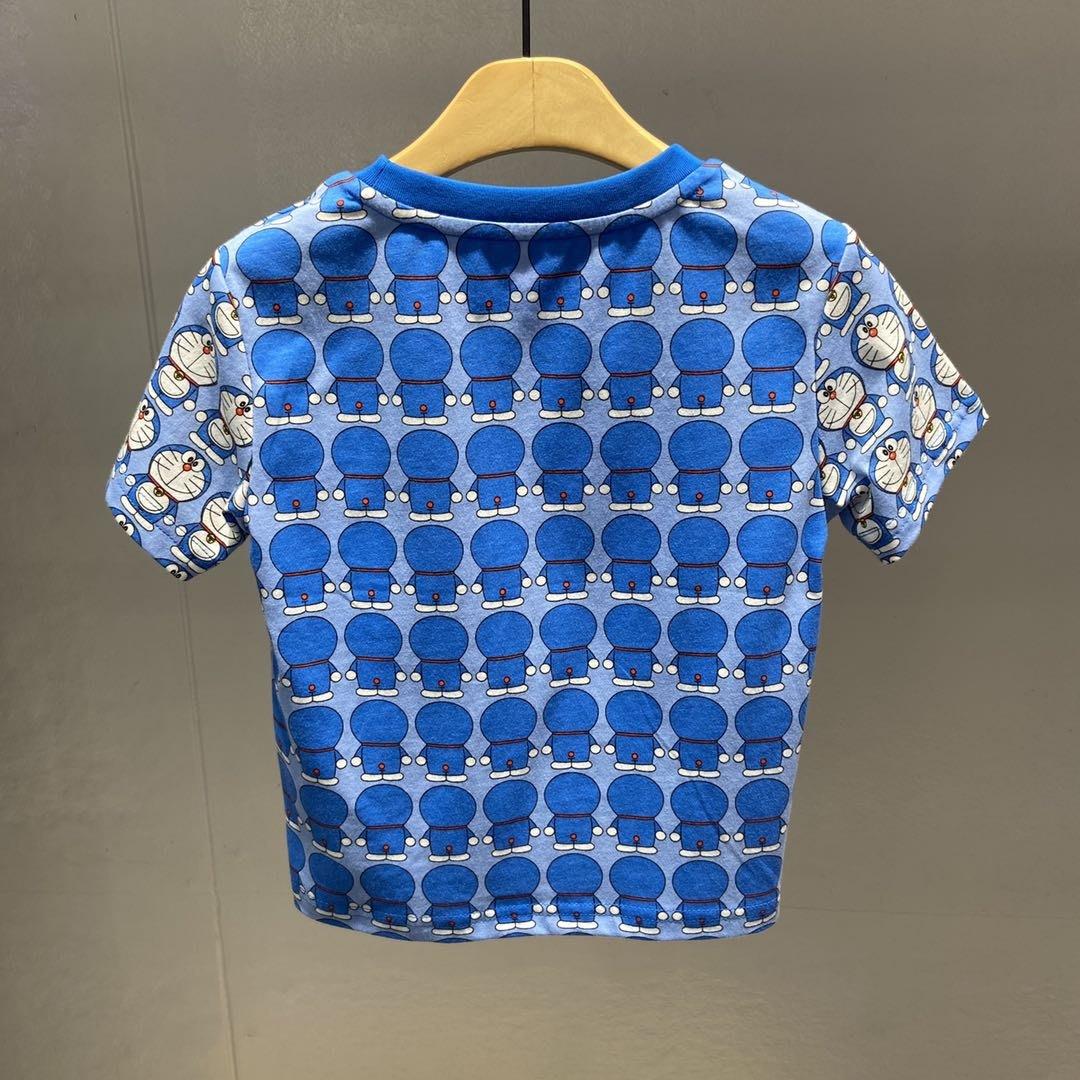 正品潮流機器貓F1DAA2308 mini peace太平鳥童裝夏裝新款哆啦A夢印花T恤 269