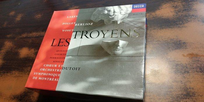 好音悅 半銀圈 Dutoit Berlioz 白遼士 Les Troyens 特洛伊人 DECCA 4CD 德PMDC版