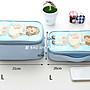 愛 BAG SHOP 韓包專賣 韓國品牌 洋娃娃 化妝包 收納包   XL 賣場 350  3色 現貨