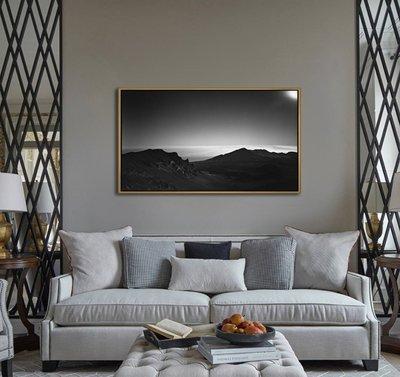 C - R - A - Z - Y - T - O - W - N 日本攝影黑白風景山脈藝術裝飾掛畫風景版畫黑白抽象壁畫